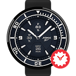 Dunkel watchface by Atmos APK Image