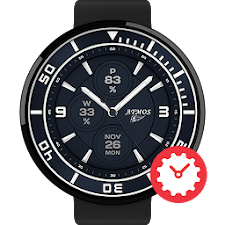 Dunkel watchface by Atmos