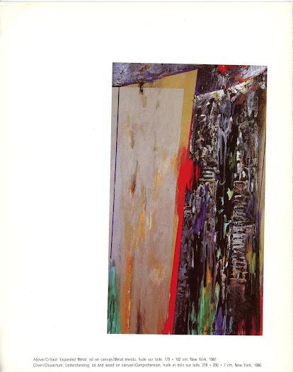 Exposición en  National Arts Center Otawa - Canada Contratapa Catálogo