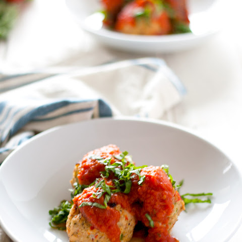 Spicy Chicken And Veggie Meatballs