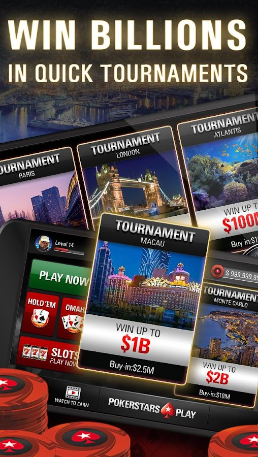 PokerStars Play: Free Texas Holdem Poker Game Screenshot 4