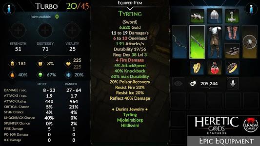 HERETIC GODS 1.08.04 (Free Shopping/VIP)