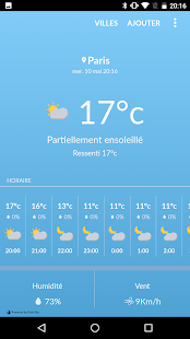 Weather in France screenshot for Android