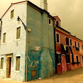 fishing village by Joseph Ellwood - City,  Street & Park  Historic Districts