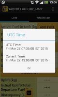 Screenshot of Aircraft Fuel Calculator