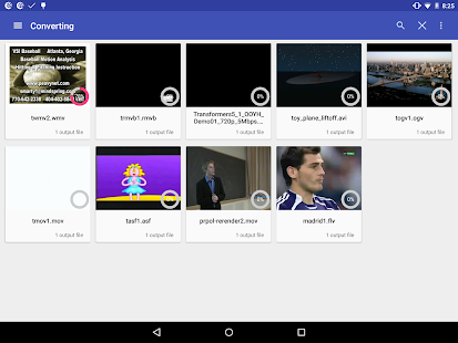 Video Converter Android 2- screenshot thumbnail
