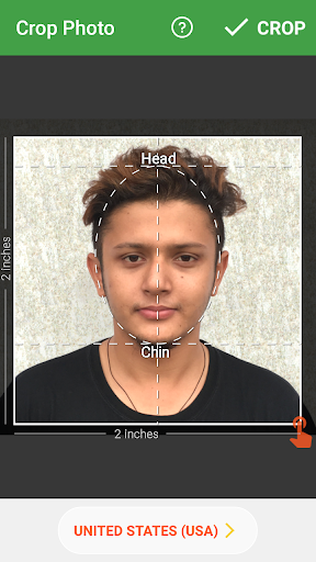 Passport Size Photo Editor screenshot 3