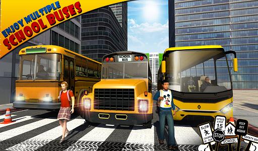 Schoolbus Driver 3D SIM - screenshot