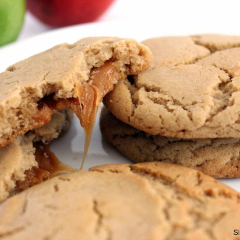 Caramel Filled Apple Cider Cookies