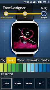 ZenWatch FaceDesigner Screenshot