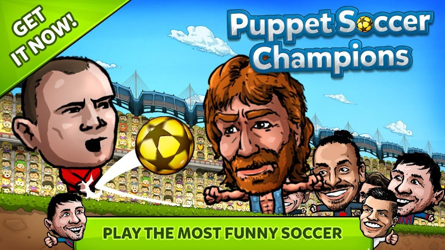 Puppet Soccer Champions 2014 Android App Screenshot