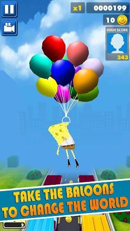 Subway Spongebob Temple Run 😍 🎈️ Screenshot