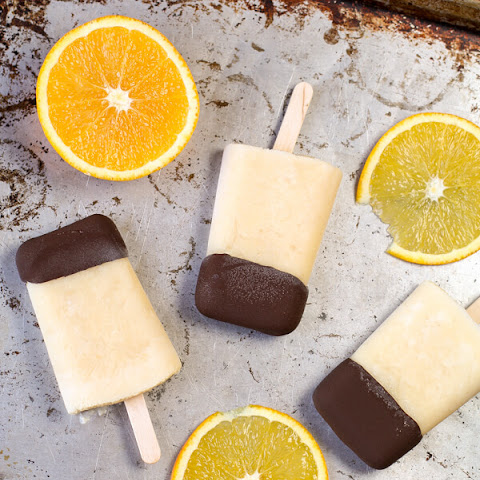 Dark Chocolate Orange Creamsicles