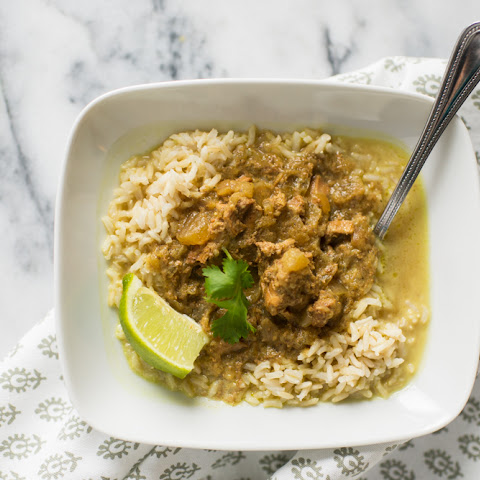 Slow Cooker Pork and Apple Curry