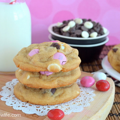 M&M Peanut Butter Pudding Cookies