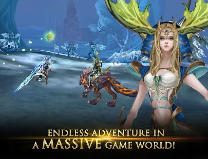 Forsaken World Mobile MMORPG apk screenshot