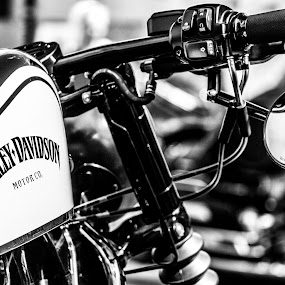 Harley Davidson old school by Roger Hamblok - Transportation Motorcycles ( harley, leopoldsburg )