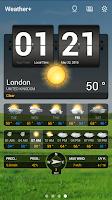 Screenshot of Weather+