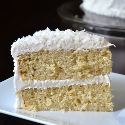 Coconut Cake With Marshmallow Cream Icing Recipes | Yummly
