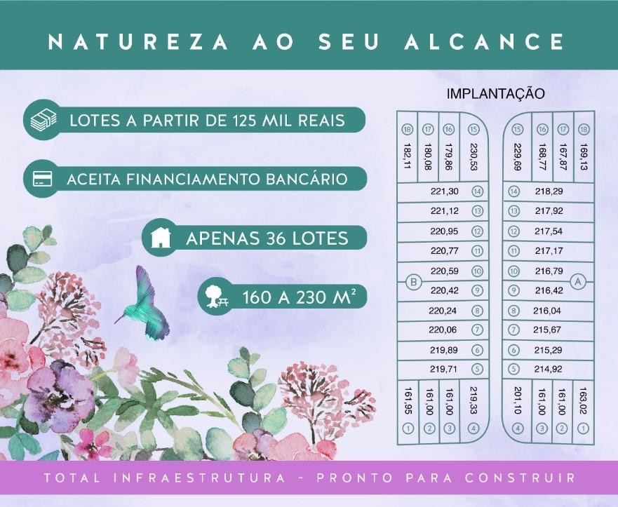 Belos Terrenos Prontos para Construir, à venda, 168 m² por R$ 125.000 - São Luiz - Paulínia/SP