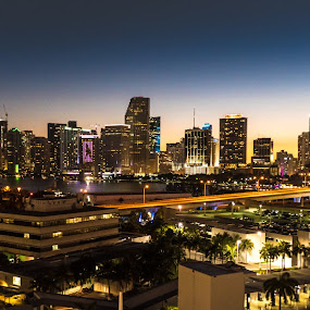 Miami by Albin Bezjak - City,  Street & Park  Skylines