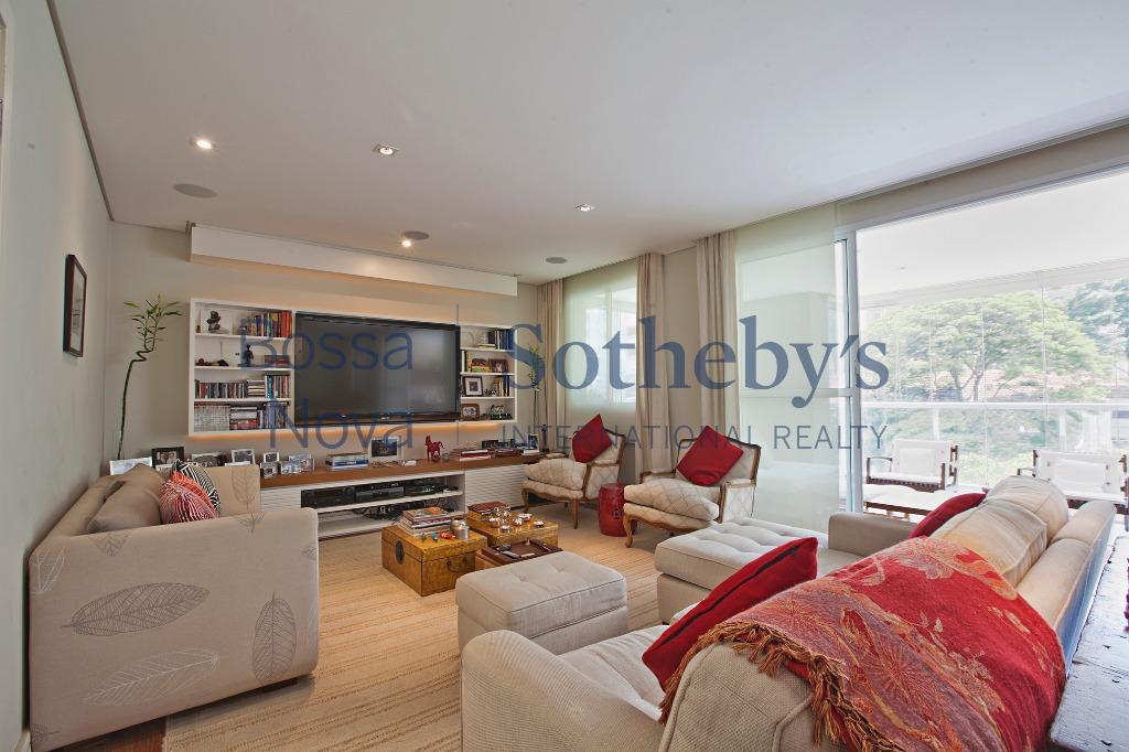 Apartamento residencial para locação, Brooklin, São Paulo.