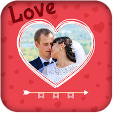 Love Hearts Photo Frame Editor