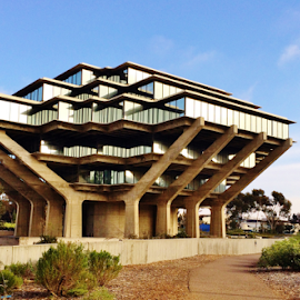 Geisel Library  5068 by Jim Suter - Buildings & Architecture Public & Historical