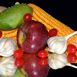 MIXED 3 by SANGEETA MENA  - Food & Drink Fruits & Vegetables