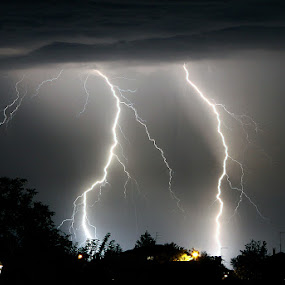 Lightnings by Matteo Chinellato - Nature Up Close Water ( lightnings )