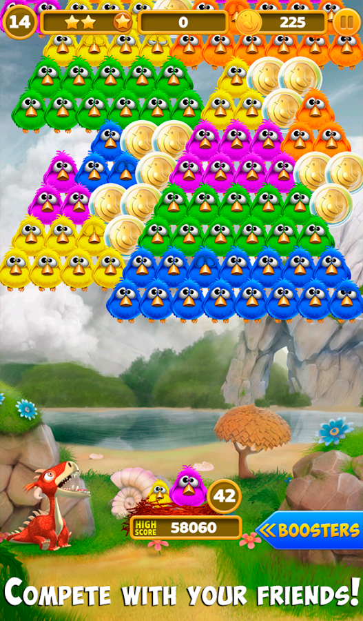 Bubble Shooter Birds Screenshot 8
