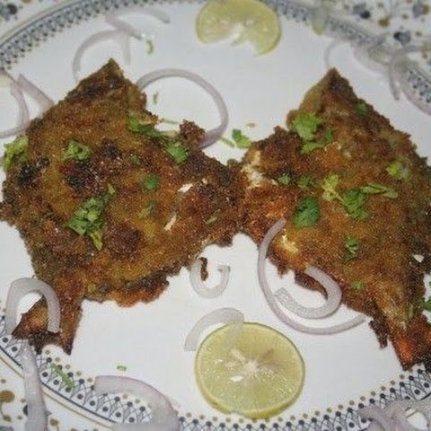 Pomfret Fish Fry Indian