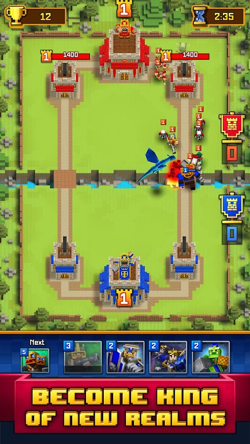 Craft Royale - Clash of Pixels Screenshot 6