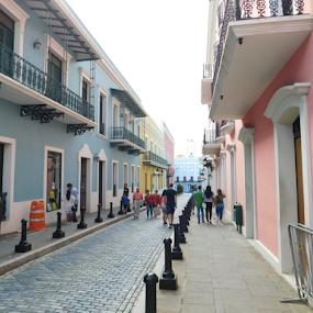Old San Juan district, Puerto rico by TONY LOPEZ - Buildings & Architecture Public & Historical ( buldings, puerto rico, colorful, san juan, historic district,  )