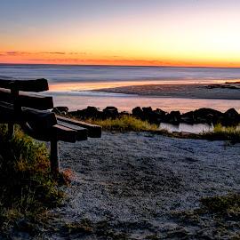 Still of Twilight by Harry James - Landscapes Sunsets & Sunrises ( coastal georgia, golden isles, saint simons island, twilight, night, beach, sunrise )