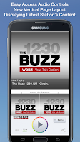Screenshot of The Buzz 1230 AM - Cincinnati