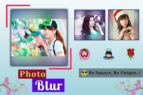 Photo Square Blur Effect - screenshot