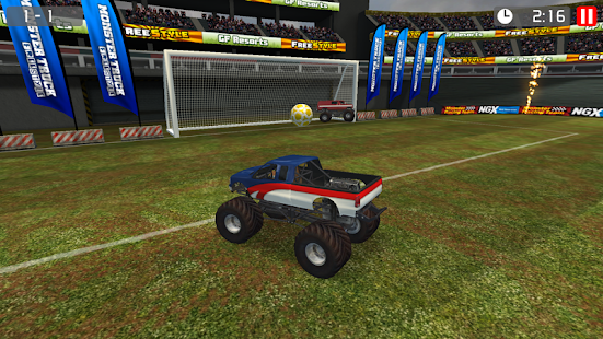 Monster Truck Soccer - screenshot