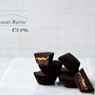 Healthy Caramel and Peanut Butter Cups