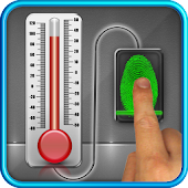 Finger Body Temperature Prank APK for Bluestacks