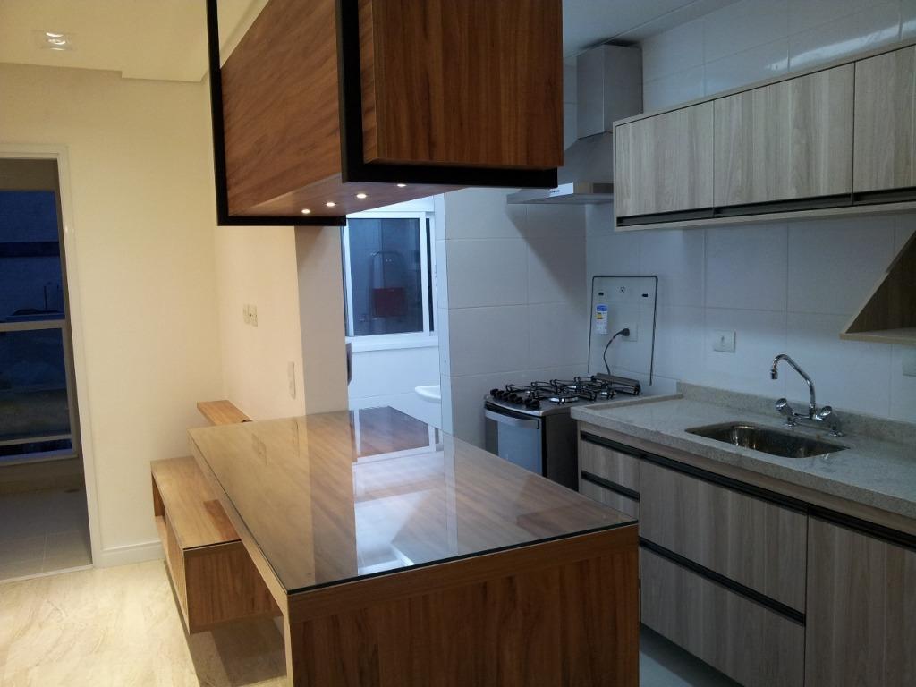 Apartamento residencial para locação Semi Mobiliado, Vila Em