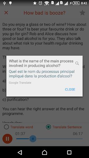 6 Minute BBC Learning English & English Listening screenshot 3