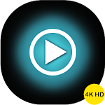 4k video player which support all type of videos Icon