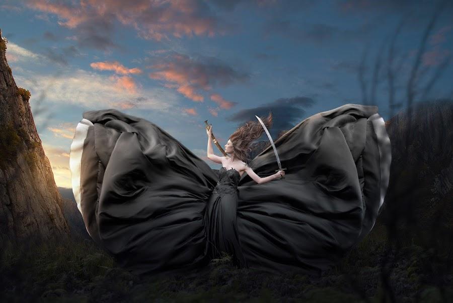 SWORDIAN by Lando Houten - Digital Art People ( digital manipulation, digital art, bride, digital photography, fairytale )