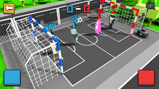 Cubic Street Soccer 3D