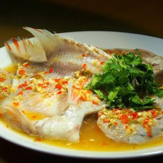 Thai-style Steamed Tilapia