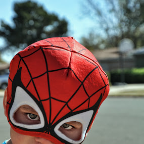 Spidey by Starla Sims - Babies & Children Children Candids ( boys, spiderman, kids )