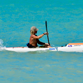 Go for it. by Victoria Eversole - Sports & Fitness Watersports ( athletes, sports, key west, kayaking )