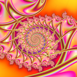 Spiral 11 by Cassy 67 - Illustration Abstract & Patterns ( colorful, swirl, wallpaper, digital art, spiral, fractalart, fractal, digital, fractals, energy )