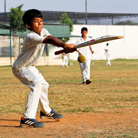 chop 'em or beat 'em by Venkat Krish - Sports & Fitness Cricket ( #batsman, #chennai, #sports, #cricket, #boy )